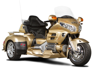 """180"" FRONT END FOR HONDA 1800 GOLD WING and BMW K1600"