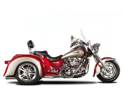 Kawasaki 1500/1600 Vulcan/Nomad Trike Conversion
