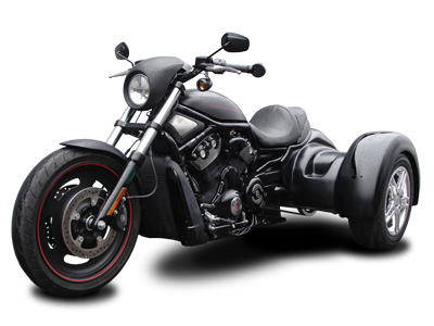 Harley-Davidson V-Rod Series Trike Conversion
