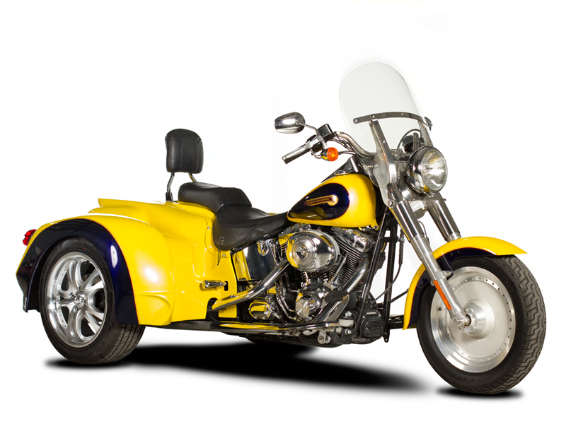 Harley-Davidson Softail Series Trike Conversion