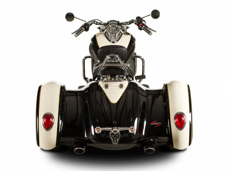 Triumph Rocket III Trike Conversion