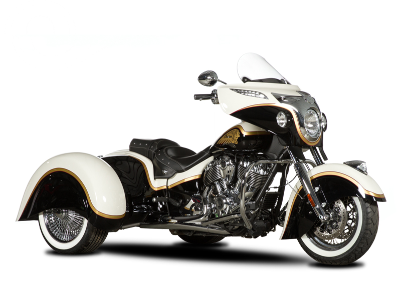 Indian Chieftain, Vintage, & Classic Trike Conversion